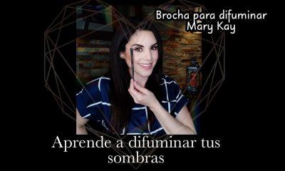 Con la nueva brocha de Mary Kay, difuminar tus sombras será mucho más sencillo