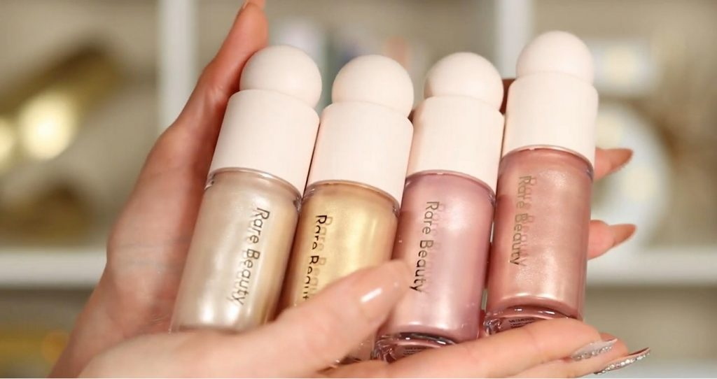 ¡Conoce Rare Beauty! La nueva línea de productos de Selena Gómez de la mano de Rosy McMichael 4 tonos de iluminadores