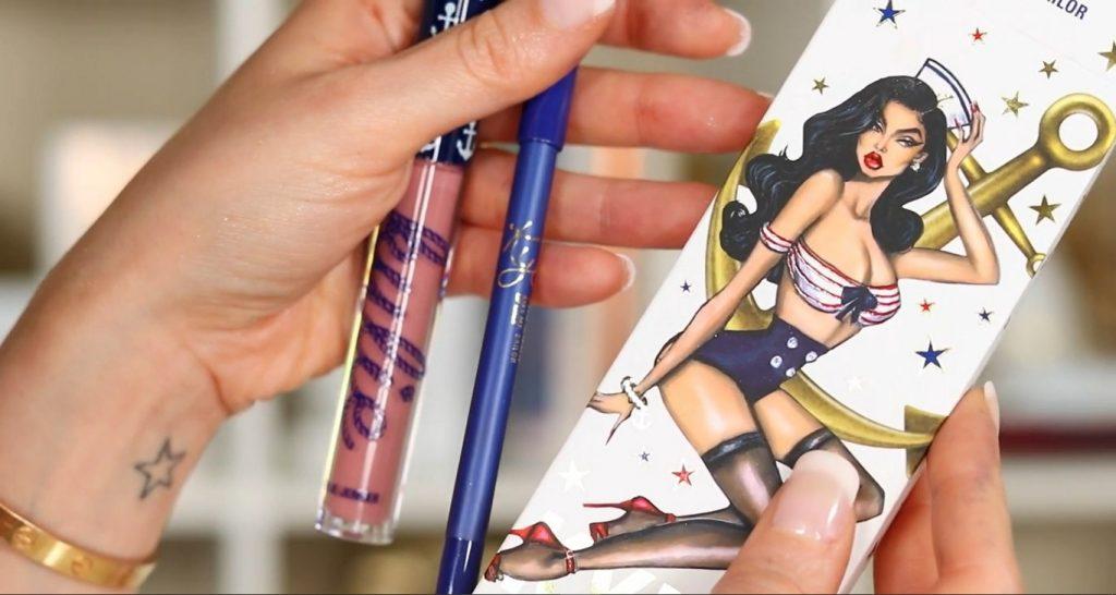 Conoce Sailor Collection, lo nuevo de Kylie Cosmetics, de la mano de Rosy McMichael kit de dos labiales