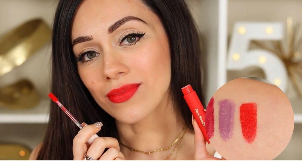 ¡Conoce Rare Beauty! La nueva línea de productos de Selena Gómez de la mano de Rosy McMichael labial tono Inspire