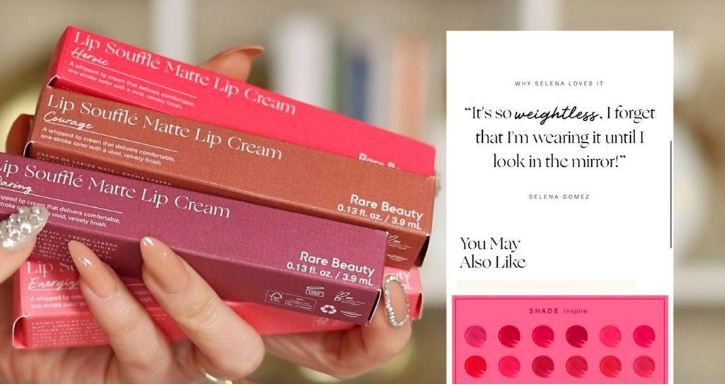 ¡Conoce Rare Beauty! La nueva línea de productos de Selena Gómez de la mano de Rosy McMichael labiales líquidos