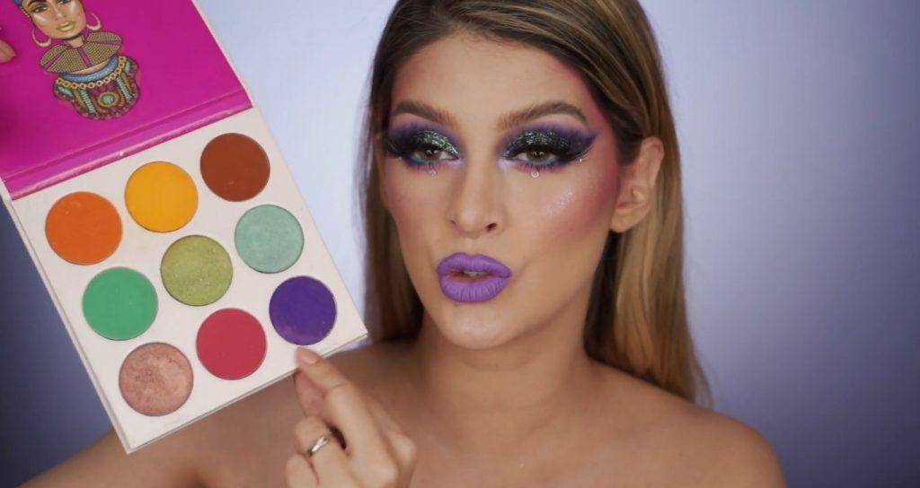 Aprende a hacer un maquillaje de fantasía de la mano de Mariana Zambrano ¡Tutorial! Combinación de colores