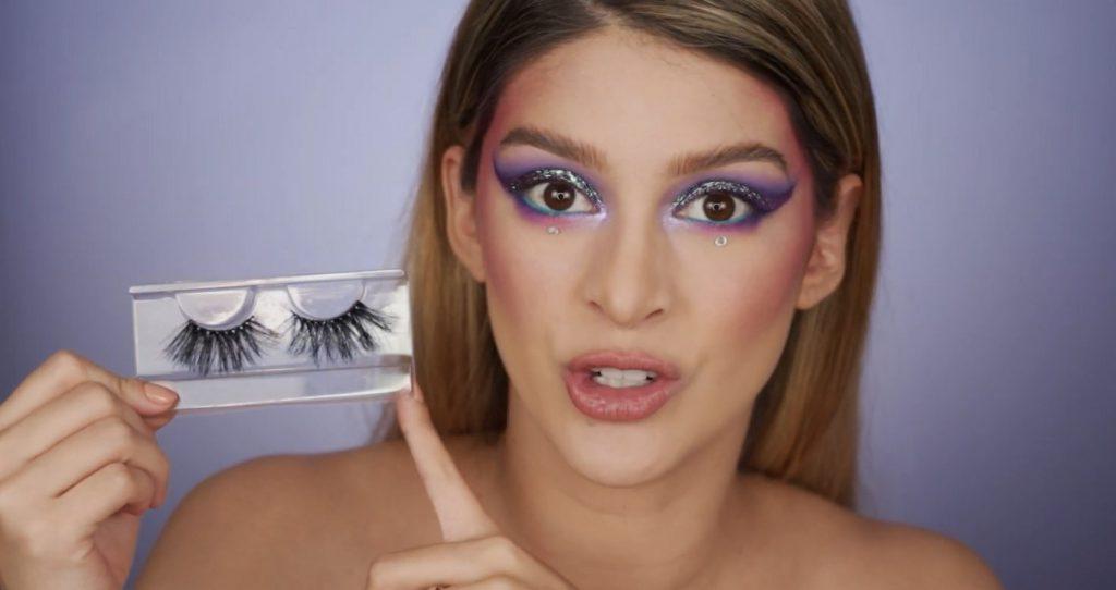 Aprende a hacer un maquillaje de fantasía de la mano de Mariana Zambrano ¡Tutorial! Pestañas postizas