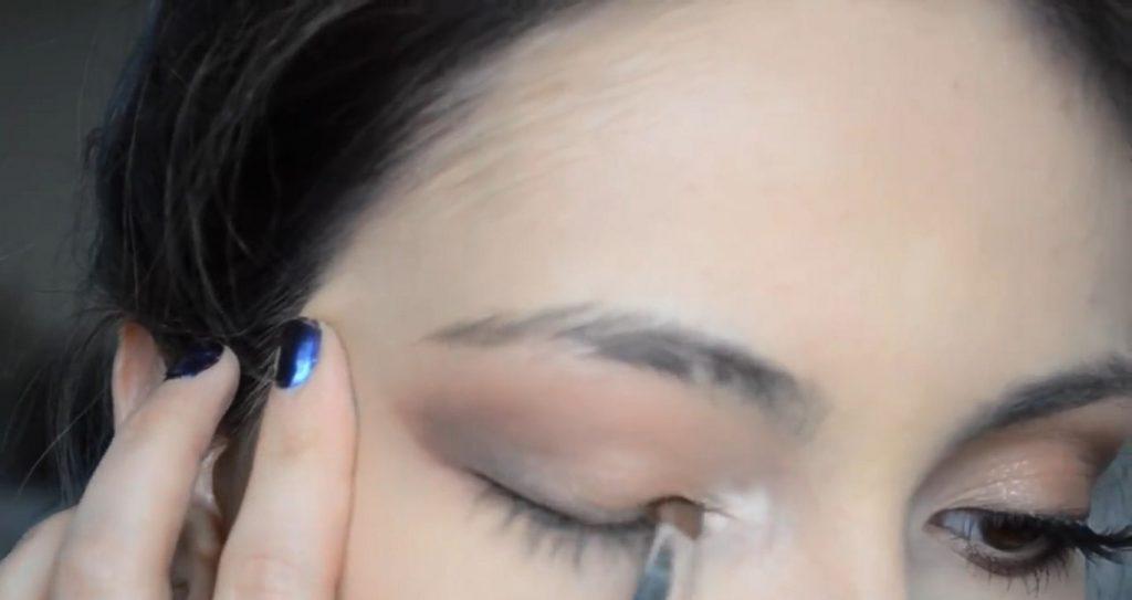 Maquillaje natural para la noche ¡Tutorial! Difuminar el delineado