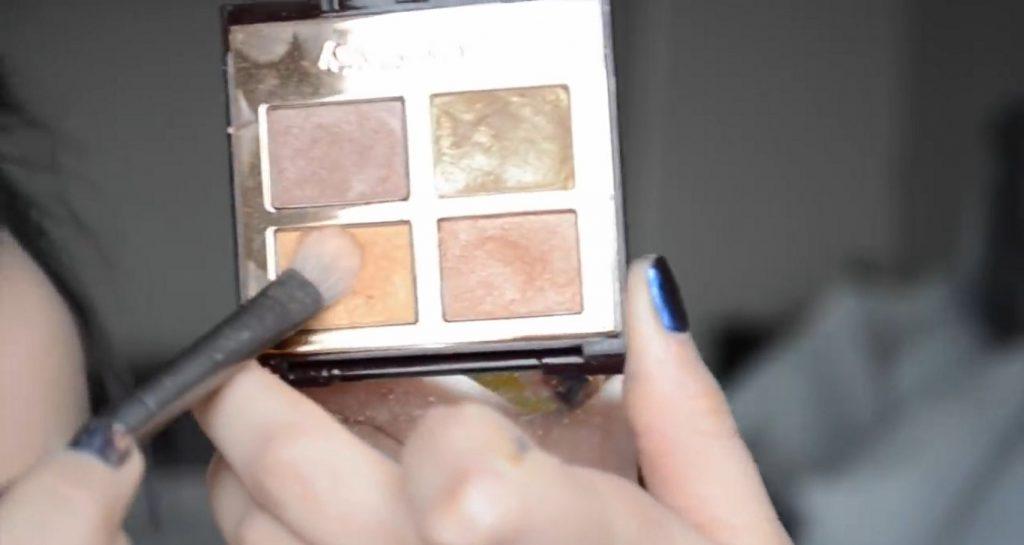 Maquillaje natural para la noche ¡Tutorial! Sombra metalizada tono durazno