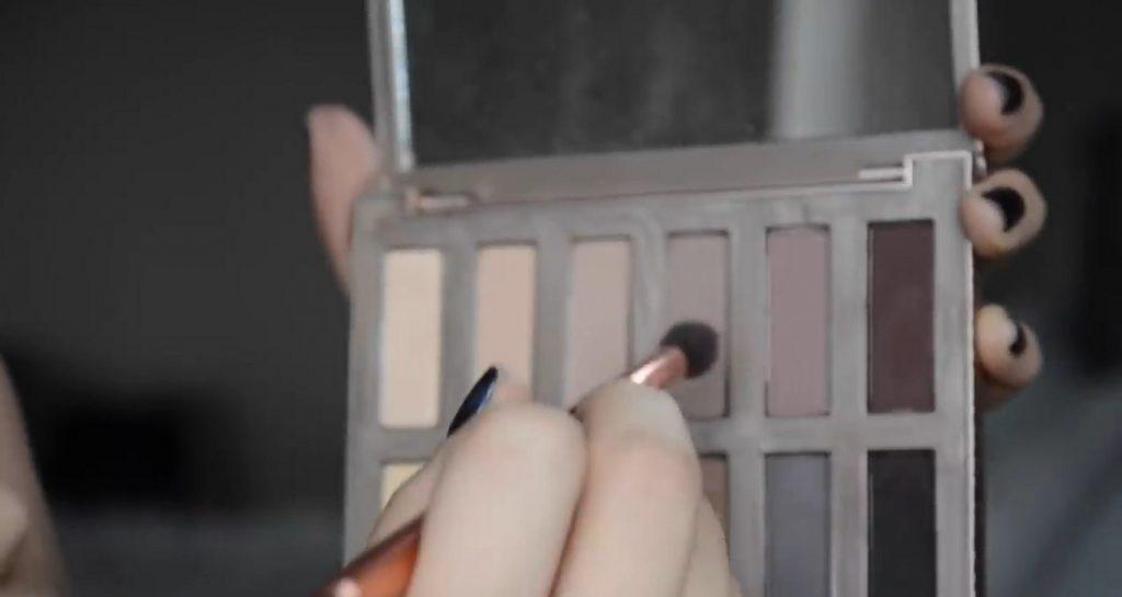 Maquillaje natural para la noche ¡Tutorial! Sombras en tonos morados