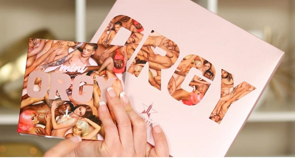 ¡Conoce ORGY! La nueva colección de Jeffree Star de la mano de Rosy McMichael paletas de sombras