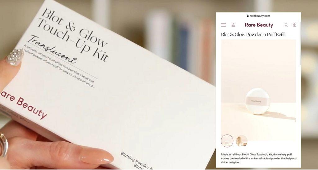 ¡Conoce Rare Beauty! La nueva línea de productos de Selena Gómez de la mano de Rosy McMichaelpolvo translúcido