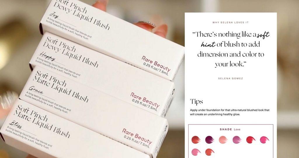 ¡Conoce Rare Beauty! La nueva línea de productos de Selena Gómez de la mano de Rosy McMichael rubor líquido
