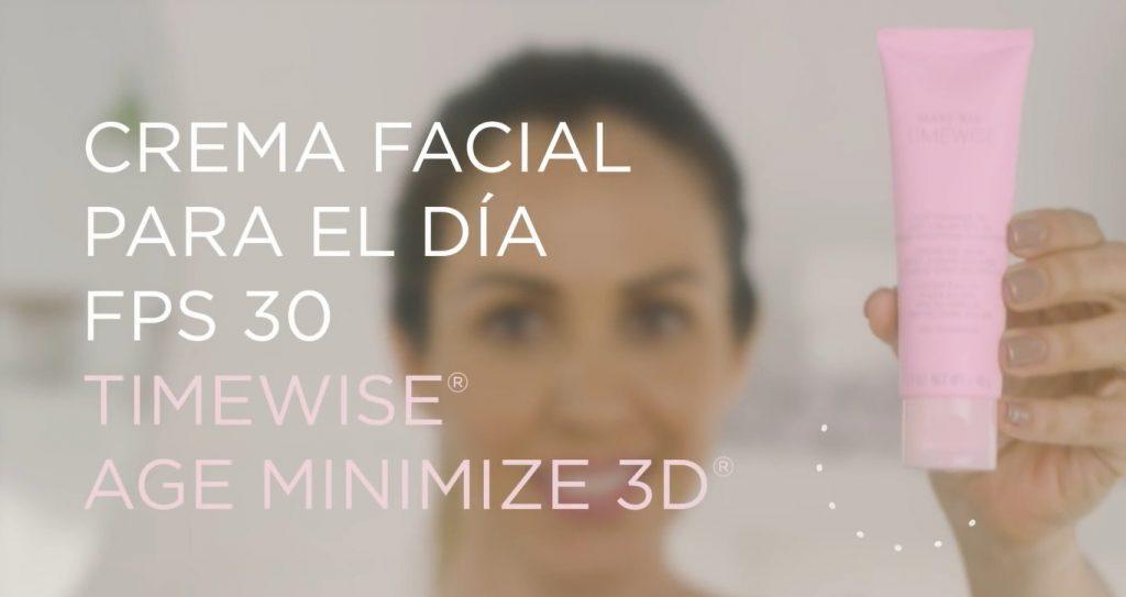 Rutina básica de día Mary Kay, un excelente tratamiento para el cuidado de la piel Crema facial para el día con FPS 30