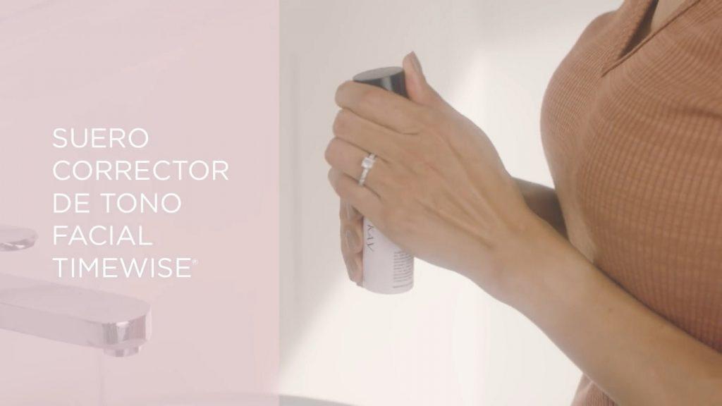 Rutina básica de día Mary Kay, un excelente tratamiento para el cuidado de la piel Suero corrector de tono facial TimeWise