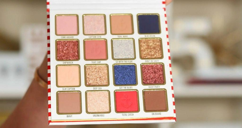 Conoce Sailor Collection, lo nuevo de Kylie Cosmetics, de la mano de Rosy McMichael tonalidades de la paleta de sombras