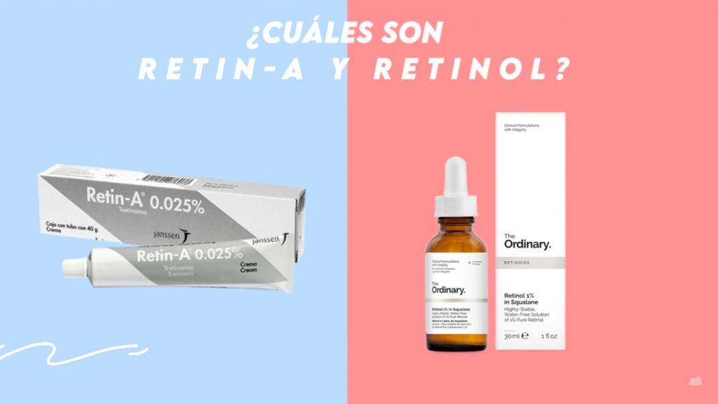 Retinol (Vitamina A) para el cuidado facial