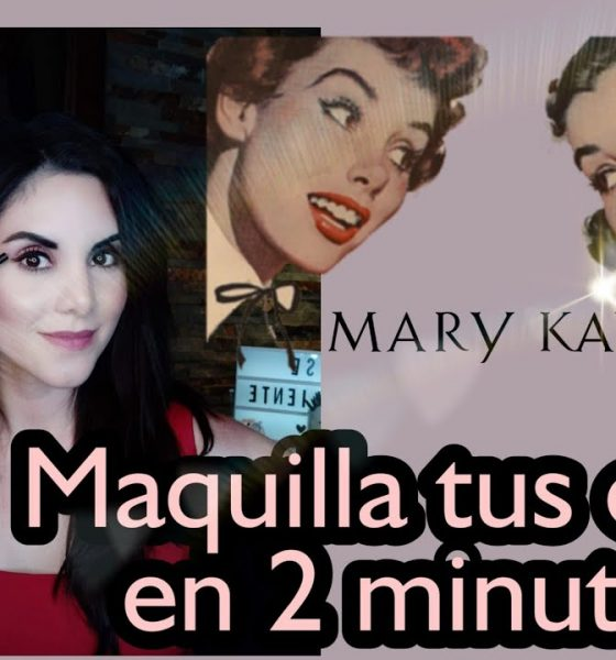 Aprende a maquillar tus cejas en solo dos minutos con productos Mary Kay