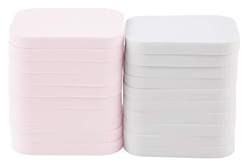 QVS Rectangle maquillaje esponjas Pack de 20