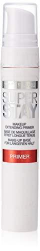 Maybelline Superstay - 01 - Primer prebase de maquillaje - Prebases de maquillaje (Piel mixta, Piel normal, Piel grasosa, Suavizar, Mate, Frasco dispensador, Mujeres, #FEFDFB)