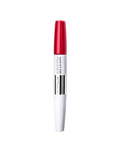 Maybelline Pintalabios Larga Duración Superstay 24H Tono 553 Steady Red