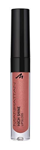 Manhattan - Brillo de labios brillante para un acabado intenso y brillante en los labios, color 240