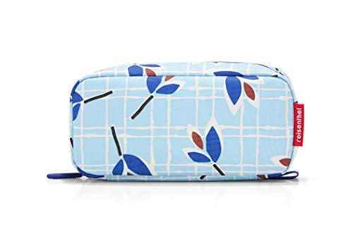 Reisenthel Multicase Blue Leaves - Estuche (21 cm, 1,5 L), diseño de Hojas