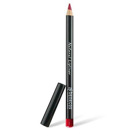 Benecos Delineador de labios natural, rojo, 1,13 g