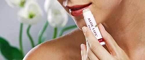 Forever Living - Bálsamo Labial Aloe Lips con Jojoba, 5 Unidades
