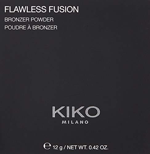 KIKO Milano Flawless Fusion Bronzer Powder 01 | Polvos bronceadores para un acabado uniforme