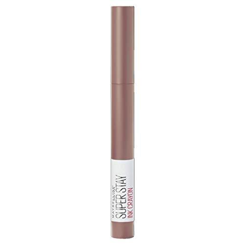 Maybelline New York - Pintalabios SuperStay Ink Crayón tono 10 Trust Your Gut, rosa