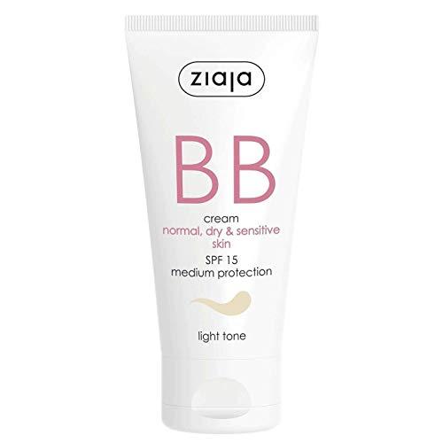 Ziaja Bb Cream Pieles Normales, Secas y Sensibles Spf15 Tono Claro 50 ml