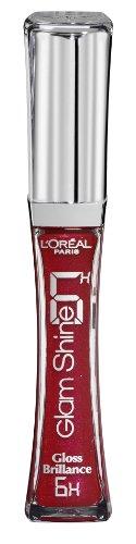 L 'Oreal 6hora Glam Shine Brillo De Labios, Unlimited fucsia número 2086ml