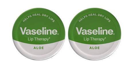 Vaseline. 2x Tratamiento para labios con Aloe Vera–20g