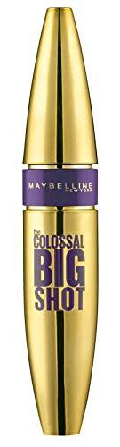 Maybelline New York, Máscara de Pestañas Volum' Express, Colossal Big Shot, Negro, 9,5 ml