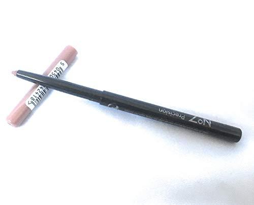 No7 Lápiz de labios de precisión – lápiz delineador de labios retráctil ~ Nude