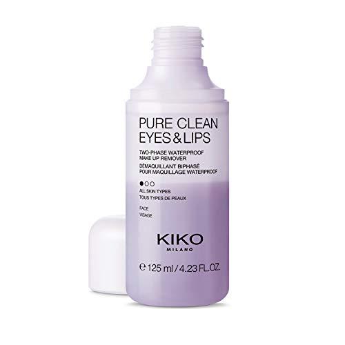 KIKO Milano Pure Clean Eyes & Lips | Desmaquillante bifásico para ojos y labios