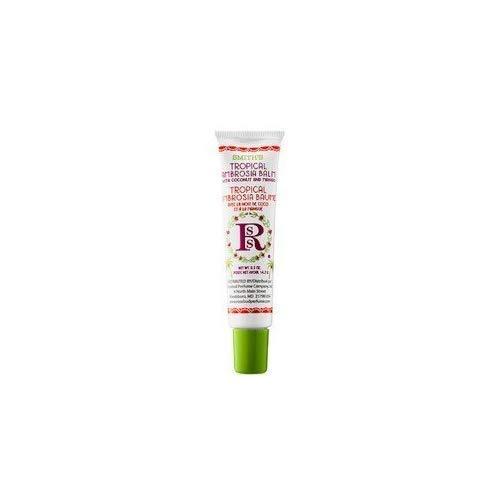 Smith's Rosebud - Tubo de bálsamo labial tropical, diseño de Ambrosia