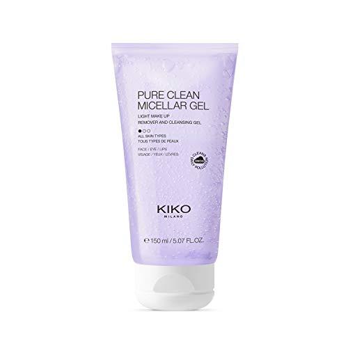 KIKO Milano PURE CLEAN MICELLAR GEL   Gel micelar desmaquillante para la limpieza de rostro, contorno de ojos y labios