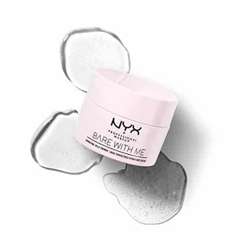 NYX Professional Makeup Prebase de Maquillaje en Gel Bare With Me, Hidratante con Aloe y Extracto de Pepino, Fórmula en Gel a Base de Agua, Inspirado en el cuidado de la piel