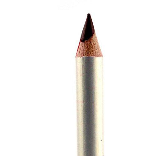 Joybuy Juego de lápices de labios profesionales de 12 colores, resistente al agua, duradero, delineador de labios