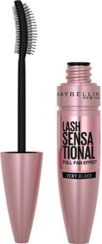 Maybelline New York, Máscara de Pestañas Volumen, Lash Sensational, Very Black, 9.5 ml