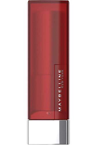 Maybelline New York, Pintalabios, Color Sensational, Creamy Matte, Tono 968 - Rich Rub