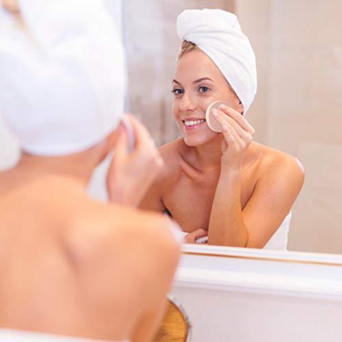 Kissral Esponjas para Maquillaje, 12 Piezas Esponja de Pintura Facial Esponja de Maquillaje Esponja Espuma Unisex de Adultos Uso Dual Seco y Húmedo Redondo