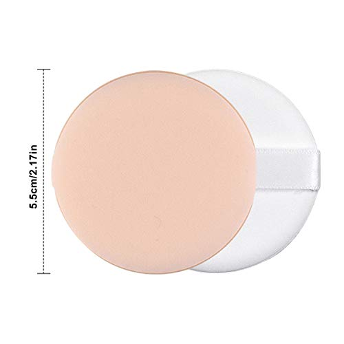 Kissral Esponjas para Maquillaje, 6 Piezas Esponja de Pintura Facial Esponja de Maquillaje Esponja Espuma Unisex de Adultos Uso Dual Seco y Húmedo Redondo