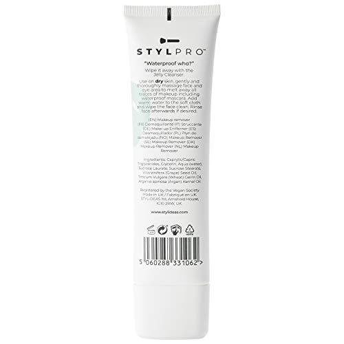 STYLPRO Easy on the Eye gel desmaquillante limpiador, hidratante y suave para ojos y rostro (100ml)
