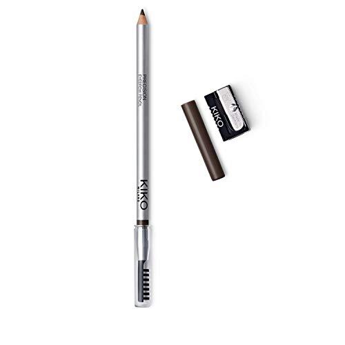 KIKO Milano Precision Eyebrow Pencil 02 | Lápiz de cejas con fórmula dura de microprecisión y cepillo de separación