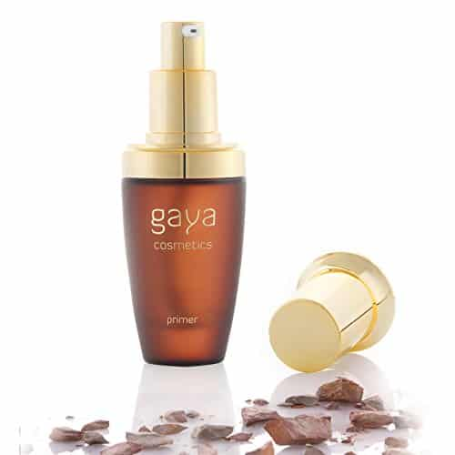 Gaya Cosmetics Prebase Primer Foundation - Makeup Base de Maquillaje Transparente Vegano Profesional en una Botella De 30 ml