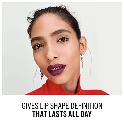 Rimmel London Lasting Finish lip liner, delineador de labios, tono 125 - 21 g
