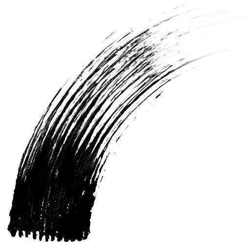 Wet n Wild - Mega Volume Mascara - Máscara de Pestañas Negra para Conseguir Unas Pestañas Hipnóticas para con un Volumen hasta 5 Veces Mayor - Maquillaje para Ojos - Very Black - 1 Unidad