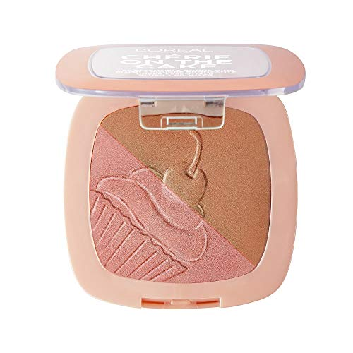 Duo colorete + polvo bronceador Chérie on the cake