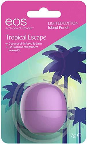 eos Tropical Escape Crema de manos y bálsamo labial