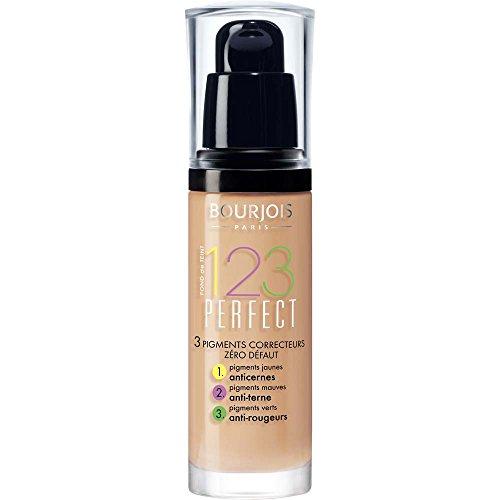 Bourjois 123 Perfect Base de Maquillaje Tono 53 Light Beige - 30 ml