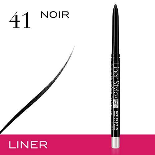 Bourjois Liner Stylo, Lápiz de Ojos, Tono 41 Noir, 0,28 g